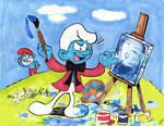 Painter's smurfiration