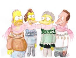 Four Best Friends by SnappySnape