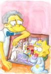 Moe Babysitting Maggie