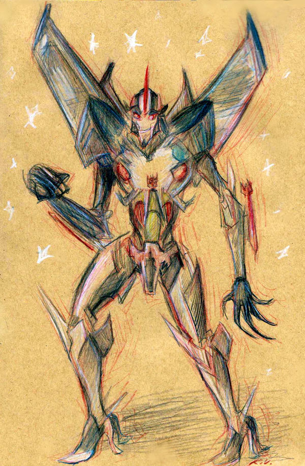 Fabulous Starscream by SnappySnape