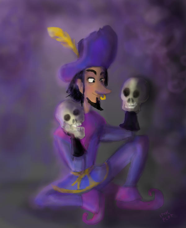 Clopin practicing his new puppet act by SnappySnape