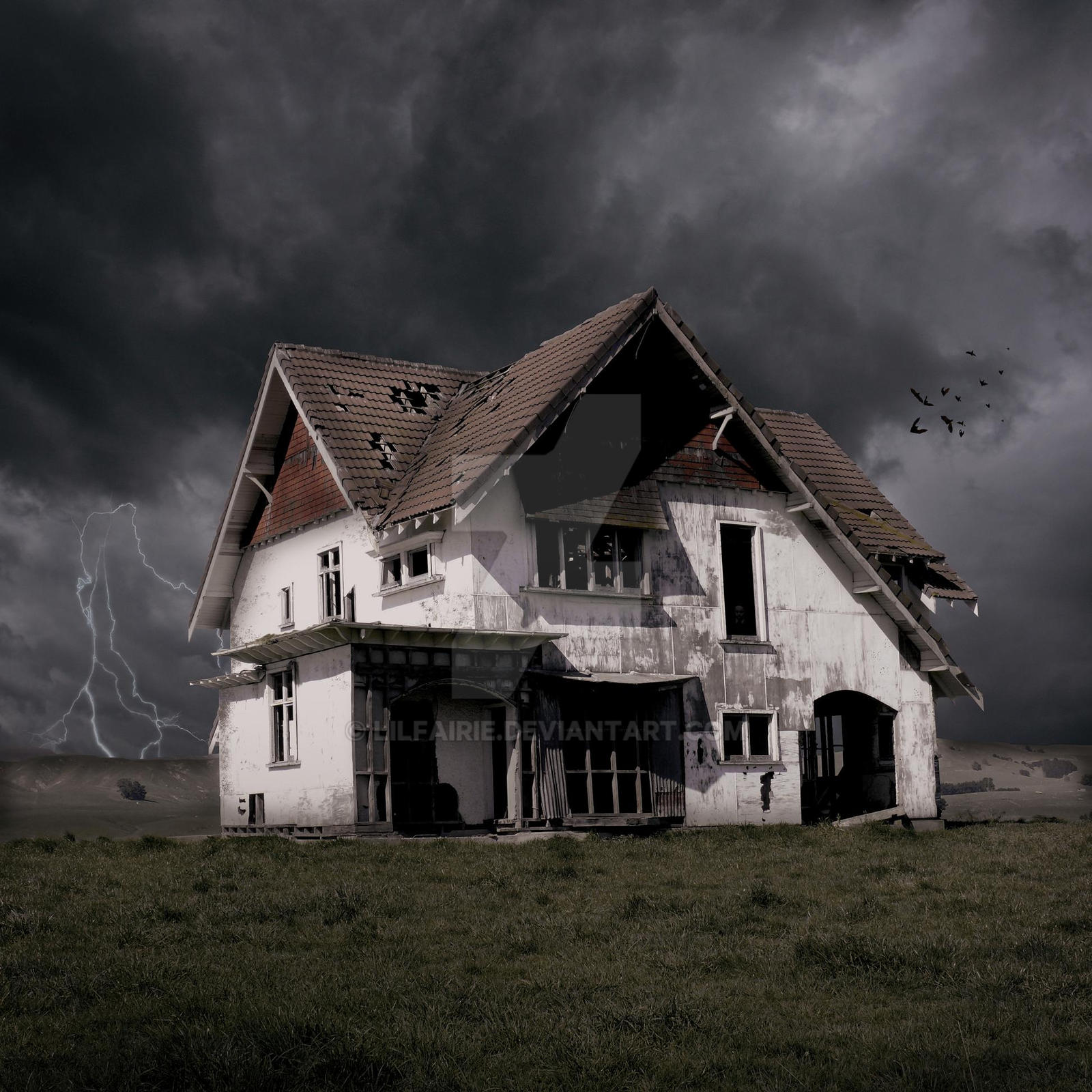 Haunted House Of Carterton By Lilfairie On Deviantart