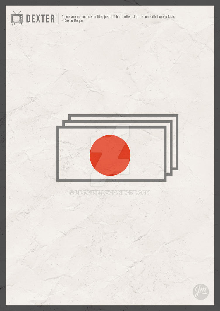 Minimalist Poster - Dexter by LilFairie