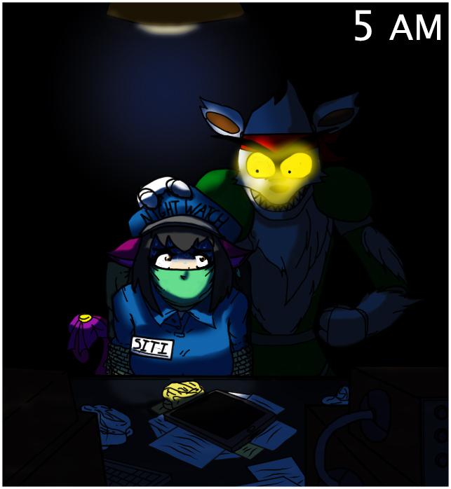 At Fnaf Bait Night By Eldritch Shambler On Deviantart
