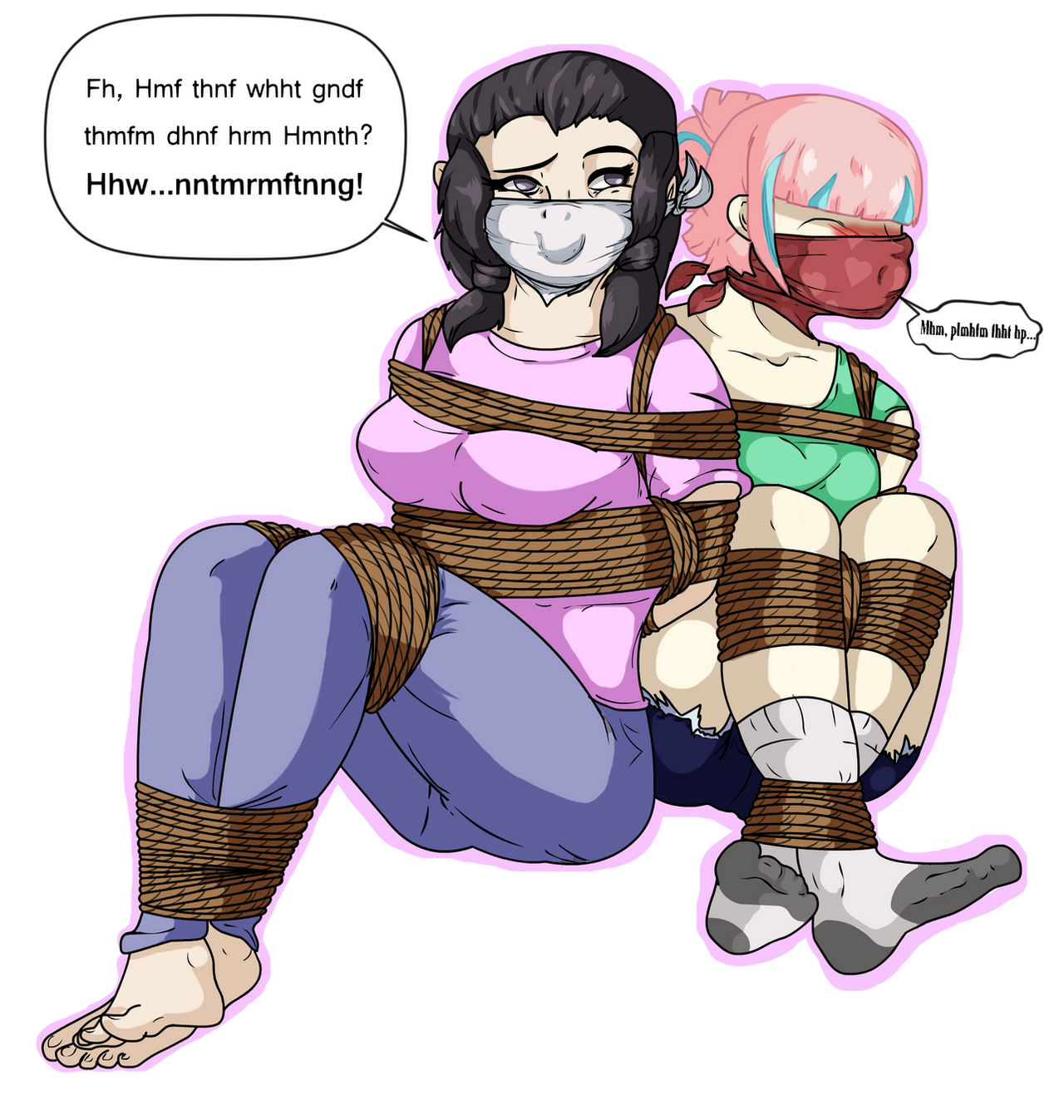 Mother And Daughter Bonding Time (OTN Gag) by Eldritch