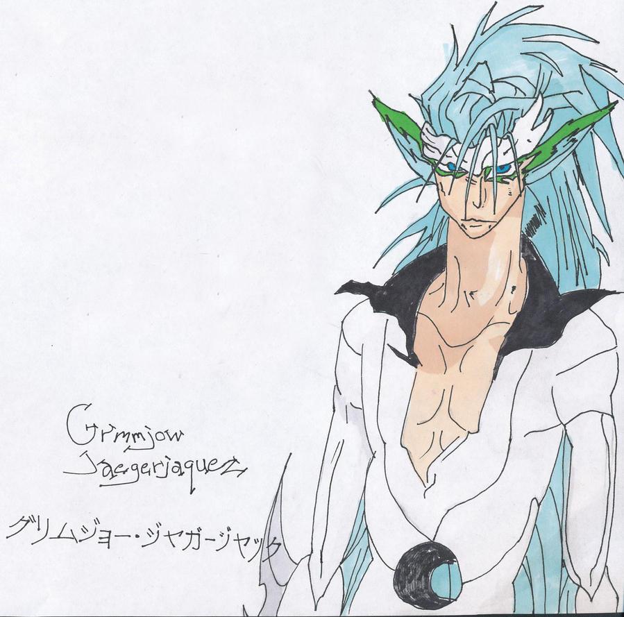 Grimmjow Jaegerjaquez by SirPomPom