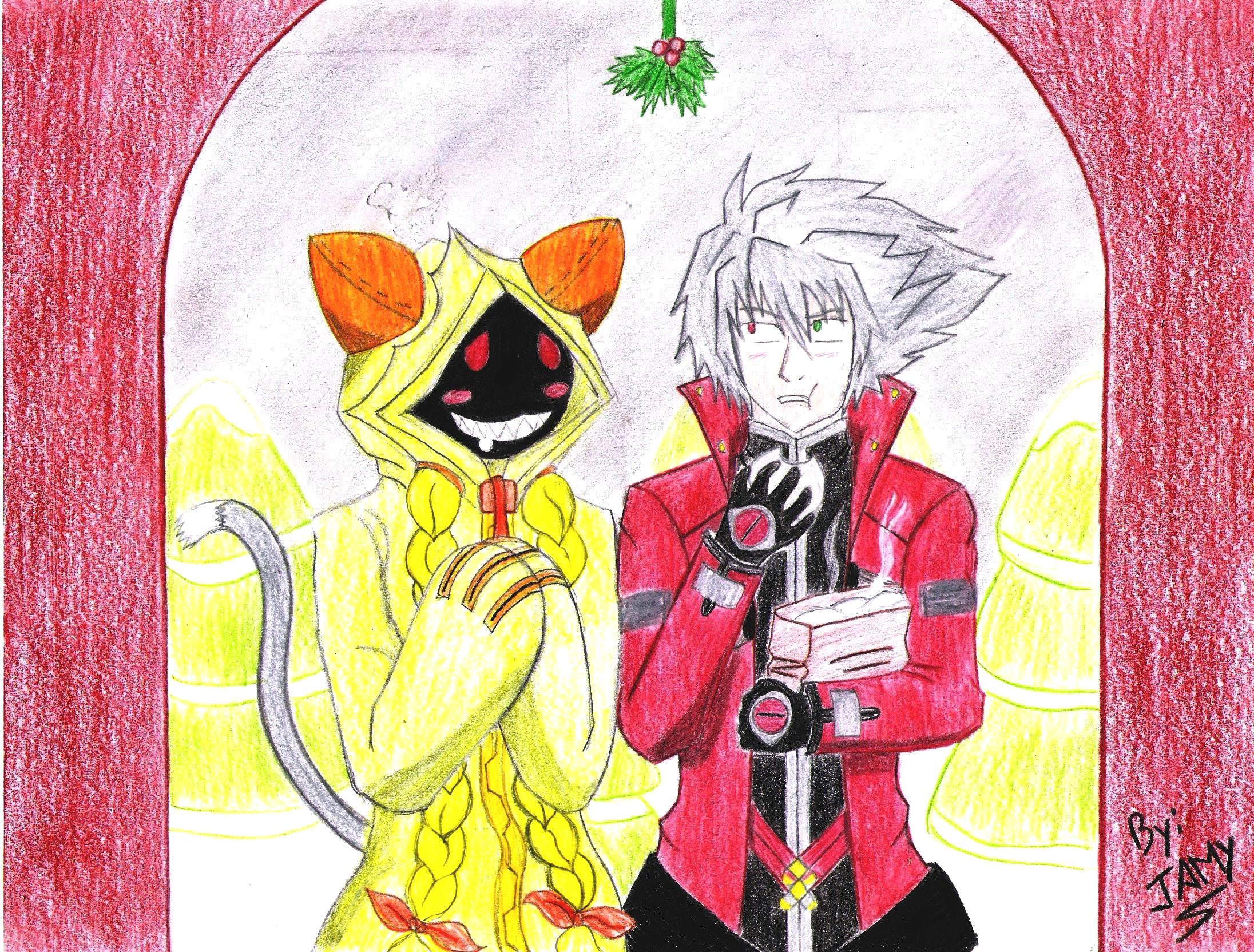 Ragna and Taokaka Christmas by Otaku-Jamy on DeviantArt