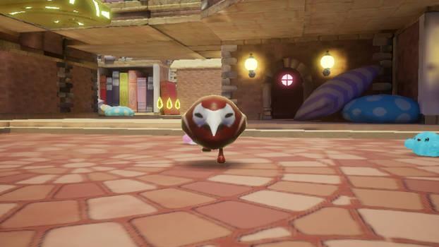 Angry Kiwi Bird Negati
