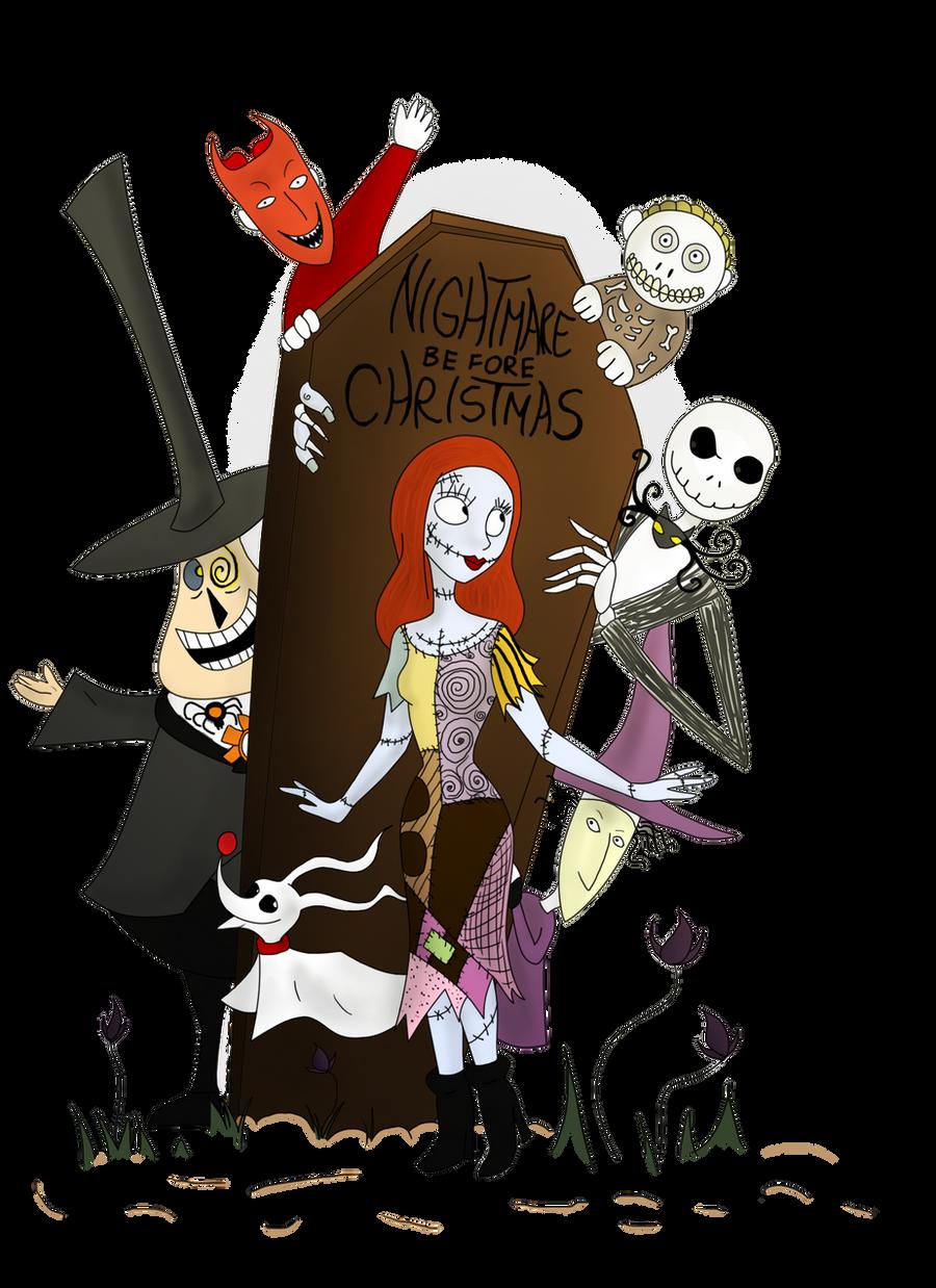 Nightmare Before Christmas Clip Art http://clwnprincessofcrime ...
