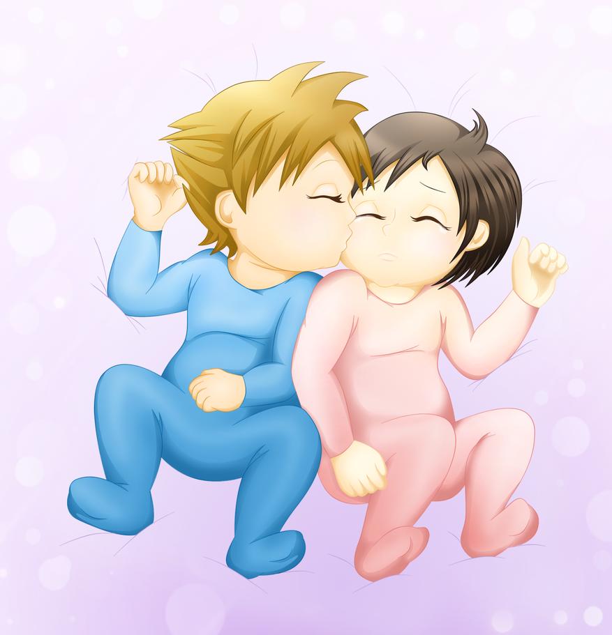 Baby Twins - Sora/Xion Day 2013 by VanitasPrincesss on ...