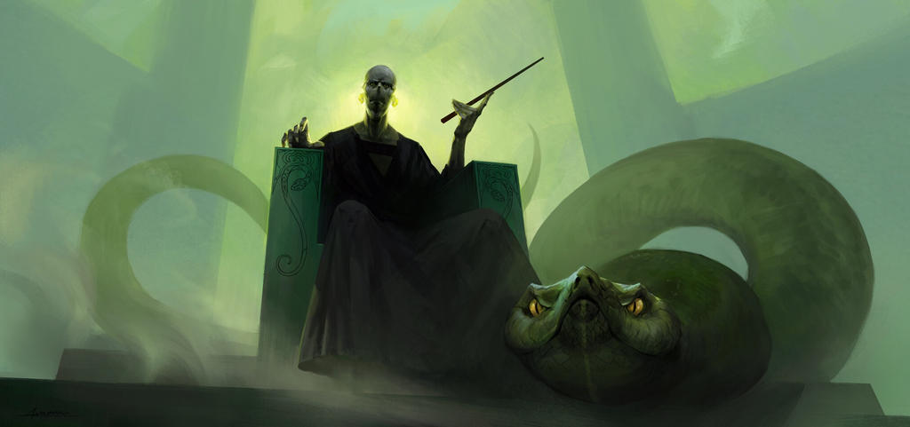 Voldemort by marmottart
