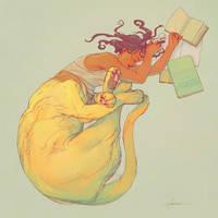 the Sphynx by marmottart