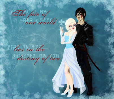 My Commission: Frozen Skyrim Cover X