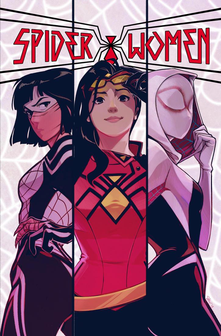 Spider-Women Alpha by ronin-gh0st