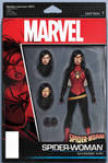 Spider-Woman Action Figure Cover Variant