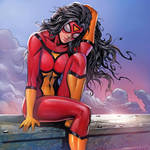 Spider-Woman by TK