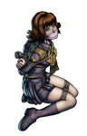 My Commission: Selphie Tilmitt by gh0st-of-Ronin