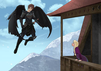 My Commission: Frozen Skyrim XIX