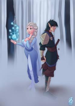 My Commission: Frozen Skyrim XX