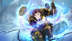 My Commission: Frozen Skyrim XXI