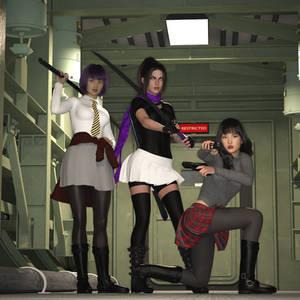 A Gift: Miyuri, Kaga, and Arlen