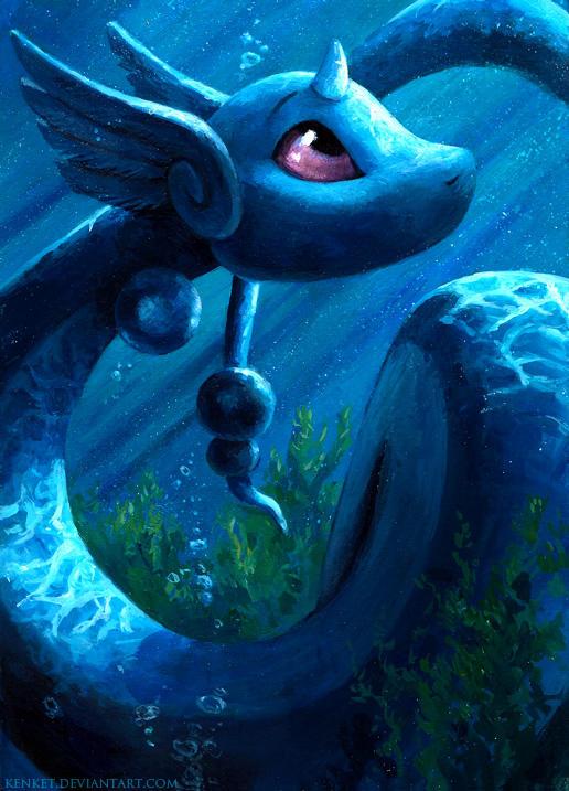 Dragonair by kenket
