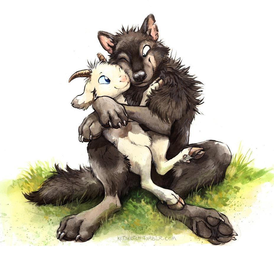 Gabu and Mei by kenket on DeviantArt