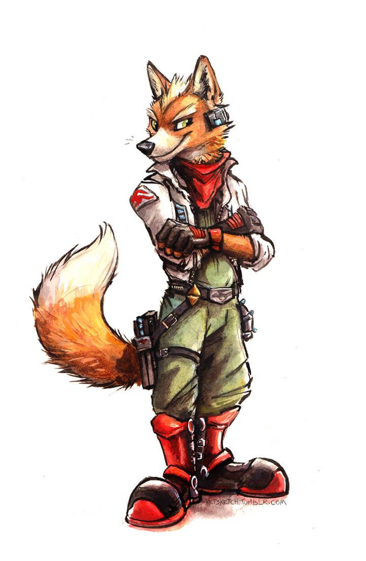 Fox Mccloud By Kenket On Deviantart
