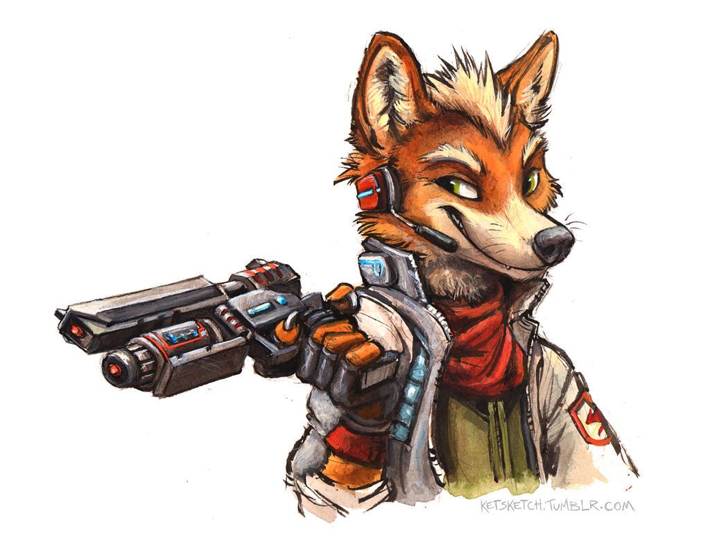 Fox McCloud by kenket