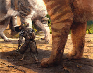 Dirty Paws by kenket