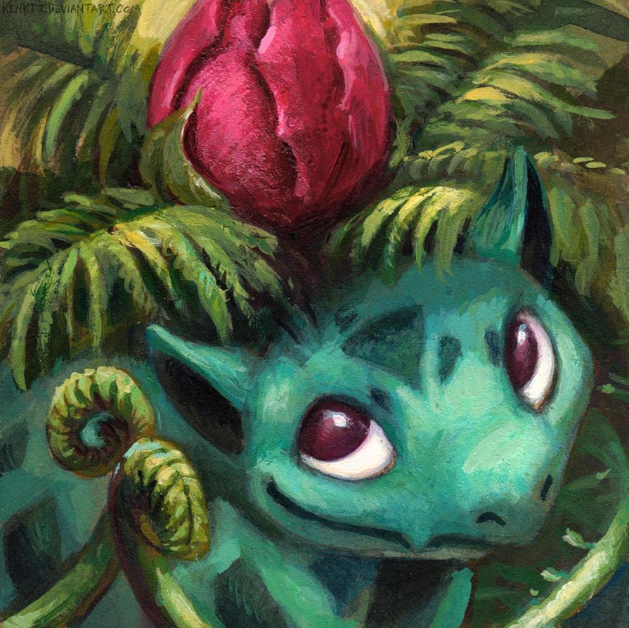 Ivysaur by kenket