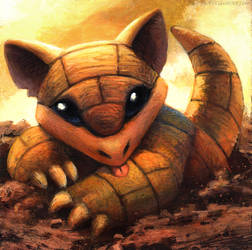 Sandshrew by kenket