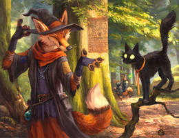 Witch Trell by kenket