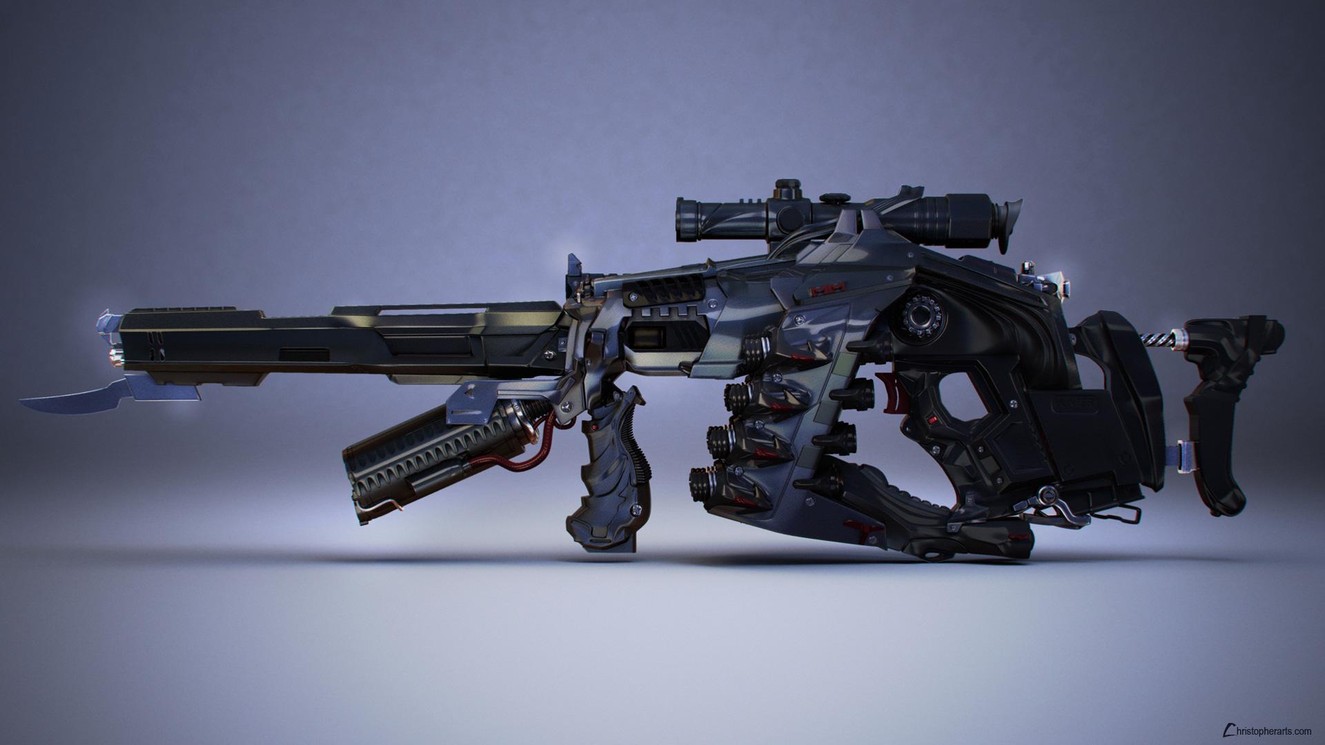 Gun by changiz
