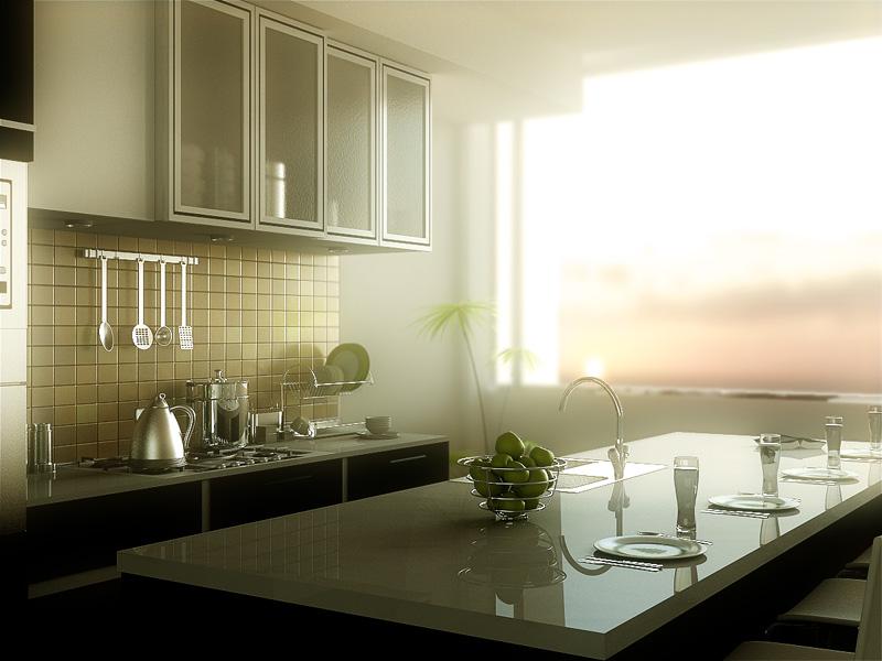kitchen by grafix3d