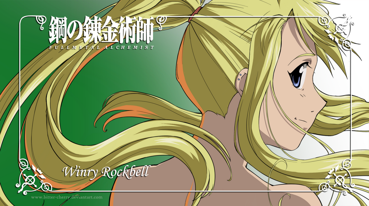Edward Elric and Winry Rockbell images EdWin wallpapers wallpaper
