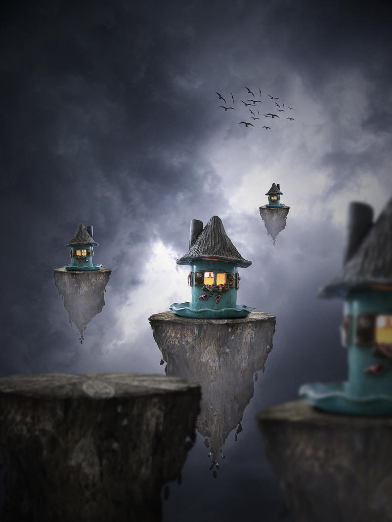 Floating Houses 2 by annie1001