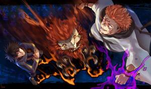 Jujutsu Kaisen Megumi vs Sukuna