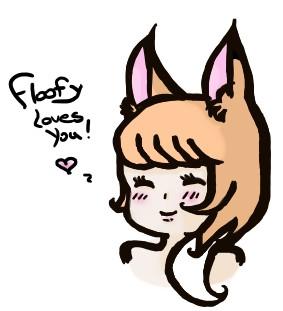 Floofy Loves Youu by FloofyFoxy