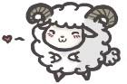 Sheepy loves you! by FloofyFoxy