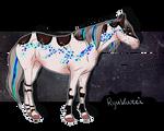 GR002 Ryukurei* - Official Padro Group Horse by KimboKah