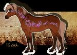GR003 B'akel* - Official Group Horse by KimboKah