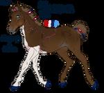 1307 Padro foal design for semper-n-aeternum by KimboKah