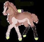 7744 Padro Foal Redesign by KimboKah