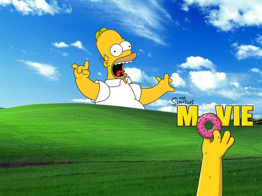 The Simpsons Movie Wallpaper By Mumtazzaidi