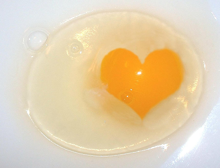 Heart of Egg by Mumtazzaidi