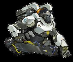 Winston - Overwatch by PlanK-69