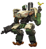Bastion - Overwatch by PlanK-69