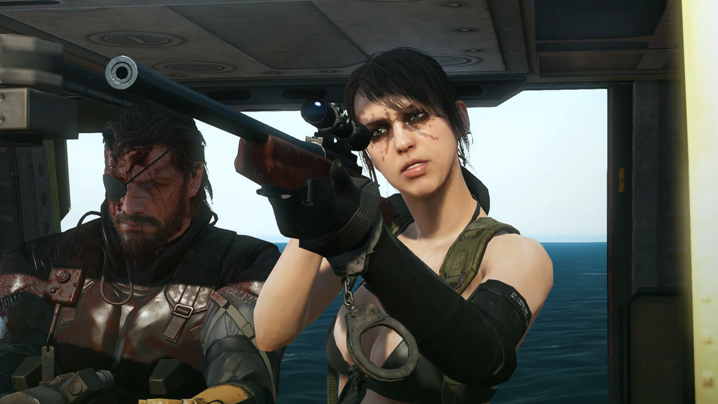 Quiet Aim - Metal Gear Solid 5: PP by PlanK-69 on DeviantArt