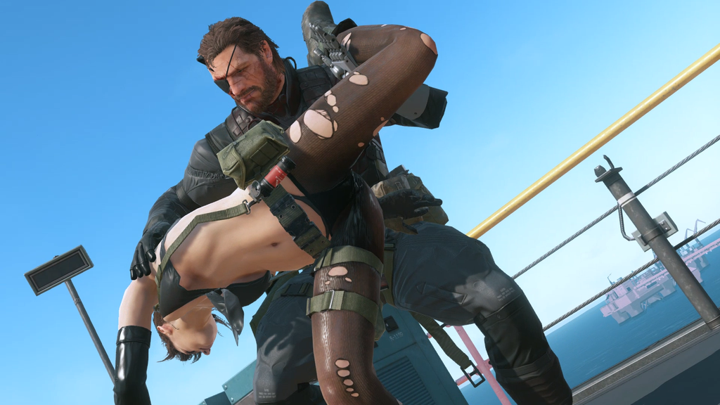 Snake blocked quiet mgs5 pp by plank 69 on deviantart - Mgs 5 wallpaper ...